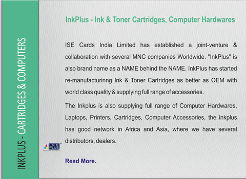 ISE   ISE Cards India Limited